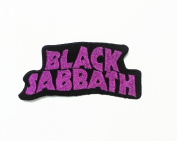 Black Sabbath Music Iron on Patch for T- Shirts Emblem Patches