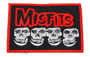 MISFITS LOGO Patch Danzig Horror Hardcore Punk