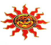 Face Sun Patches Cartoon Patches Embroidered Iron on Patch