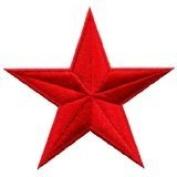 Star Hippie 70s Retro Disco Fab Superstar Applique Iron-on Patch New S-144 Handmade Design From Thailand
