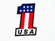 Flag Number One USA Patch