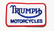 Triumph Patches Motorcycles Biker Racing Team Patches Embroidered Iron on Patch