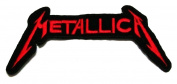 The Metallica Music Band Logo Embroidery Iron-on Patch