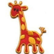 Giraffe Baby Animal Kids Fun Wildlife Safari Applique Iron-on Patch New G-81 Handmade Design From Thailand