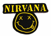 Nirvana rock music band Patch Logo III Embroidered Iron on Patches