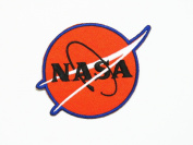 NASA LOGOIII EMBROIDERED IRON ON PATCH