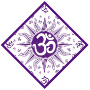 OM Bandana Purple