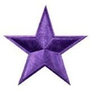 Star Hippie 70's Retro Disco Fab Superstar Applique Iron-on Patch New S-151 Handmade Design From Thailand