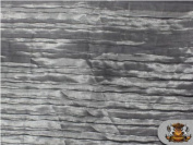 Satin Italian Crushed Silver 290cm Wide / Sold By the Yard