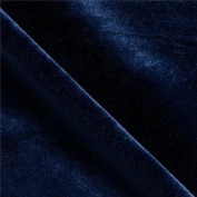 Stretch Velvet Navy Blue 150cm By the Yard