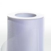 Koyal Wholesale 25-Yard Sheer Organza Fabric Roll, 15cm , White