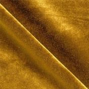 Stretch Velvet Dark Gold 150cm By the Yard