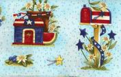 Clothworks Diane Knott 'Summertime' Sampler Cotton Fabric Panel