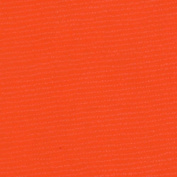 Oil Cloth Solid Orange Fabric