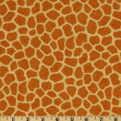 Jungle Babies Giraffe Tan Fabric