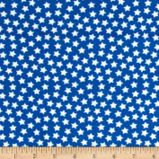 Camelot Flannel Stars Royal Fabric