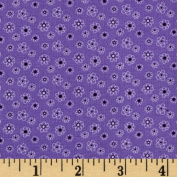 Lites & Brites Mini Floral Purple Fabric