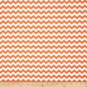 Chevron Orange Fabric
