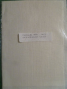 Antique White Belfast Fabric 36cm X 46cm