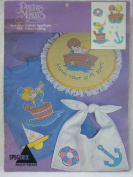 Precious Moments Sew-Free Fabric Applique #556 Clear Sailing