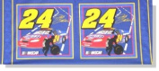 Nascar -Jeff Gordon Pillow Panel Fabrics By Springs Global- 100% Cotton,120cm x 47cm Panel