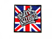 Punk Rules Logo Iron on patch great gift for Men and Women
