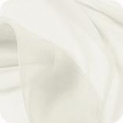 Ivory Chiffon Quality Dress Fabric - per metre