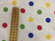 BBC CHILDREN IN NEED Spots Stripe cotton fancy dress outfit Dress Bunting Fabric PRESTIGE FASHION UK LTD