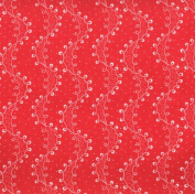 Red Quilting Fabrics by General Fabrics- 100%Cotton, 110cm Wide
