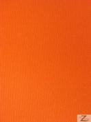 SOLID OUTDOOR FABRIC (WATERPROOF/ANTI-UV) - Orange - DUCK VINYL 150cm WIDTH