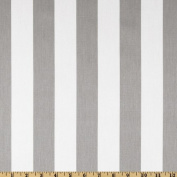 Premier Prints Canopy Stripe Twill Storm Fabric