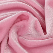 Stretch Velvet Pink Fabric