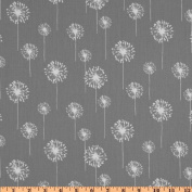 Premier Prints Small Dandelion Twill Storm Fabric