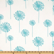 Premier Prints Dandelion Twill Girly Blue Fabric