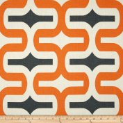 Premier Prints Embrace Macon Apache Orange Fabric