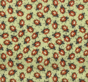 Creature Comforts Ladybugs By General Fabrics - 100% Cotton, 110cm Wide By the Yard