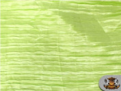 Satin Italian Crushed Lime 290cm Wide / Sold By the Yard