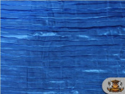 Satin Italian Crushed Royal Blue 290cm Wide / Sold By the Yard
