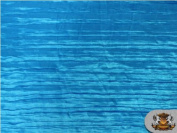 Satin Italian Crushed SKY Blue 290cm Wide / Sold By the Yard