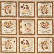SPX Biscotti Cookie Patch Beige, 44-inch (112cm) Wide Cotton Fabric Yardage