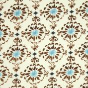 Free Spirit Dena Designs London Cotswold Blue, 43-inch (109cm) Wide Cotton Fabric Yardage