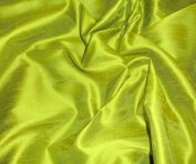 Caprice Faux Silk Apple Green Fabric
