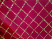 Monte Carro 800 Red Diamont Parent, 140cm Sold By Yard