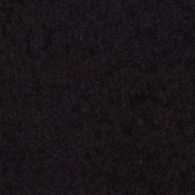 Terry Cloth Black Fabric