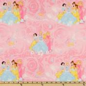 Disney Princess Scenic Pink Fabric