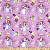 Disney Princess Sophia Princess in Training Purple Fabric