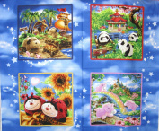 110cm Wide Pillow Pets Craft Cotton Fabric By The Panel