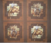 Wild West by General Fabrics - PANEL