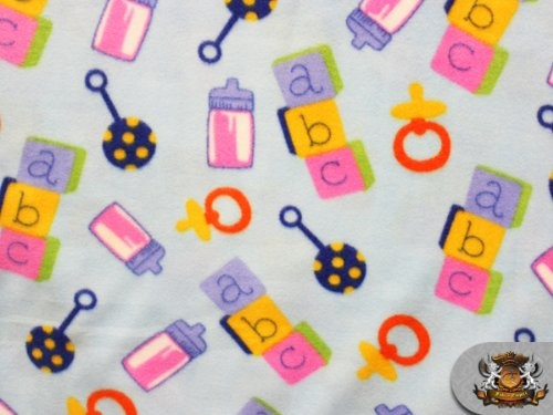 Zoom for Children s flannel fabric by the yard