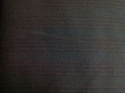 Black Wool W/white/red Pinstripe Fabric 150cm By the Yard